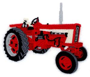 International Tractor Embroidery Designs