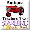 Antique Tractors 2 Design Pack