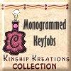 Monogrammed Keyfobs