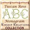 Tuscan Rose Monogram