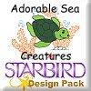 Adorable Sea Creatures Design Pack