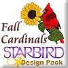Fall Cardinals Design Pack