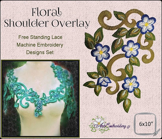 Machine Embroidery Designs Freestanding Lace