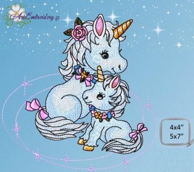 Machine Embroidery Unicorn Designs Unicorn Embroidery Patterns