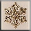 Small Snowflake Gold