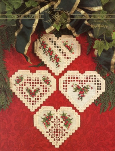 christmas in my heart hardanger leaflet embroidery patterns by cross n patch - Christmas In My Heart