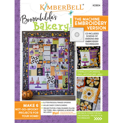 Kimberbell Broomhilda's Bakery CD & Book