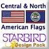 Central & North American Flags