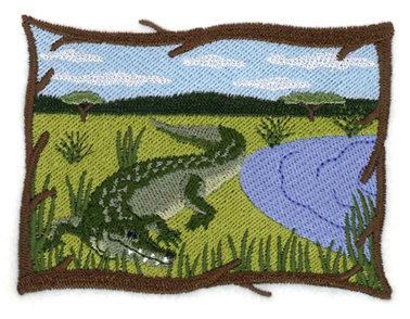 Crocodile Scene