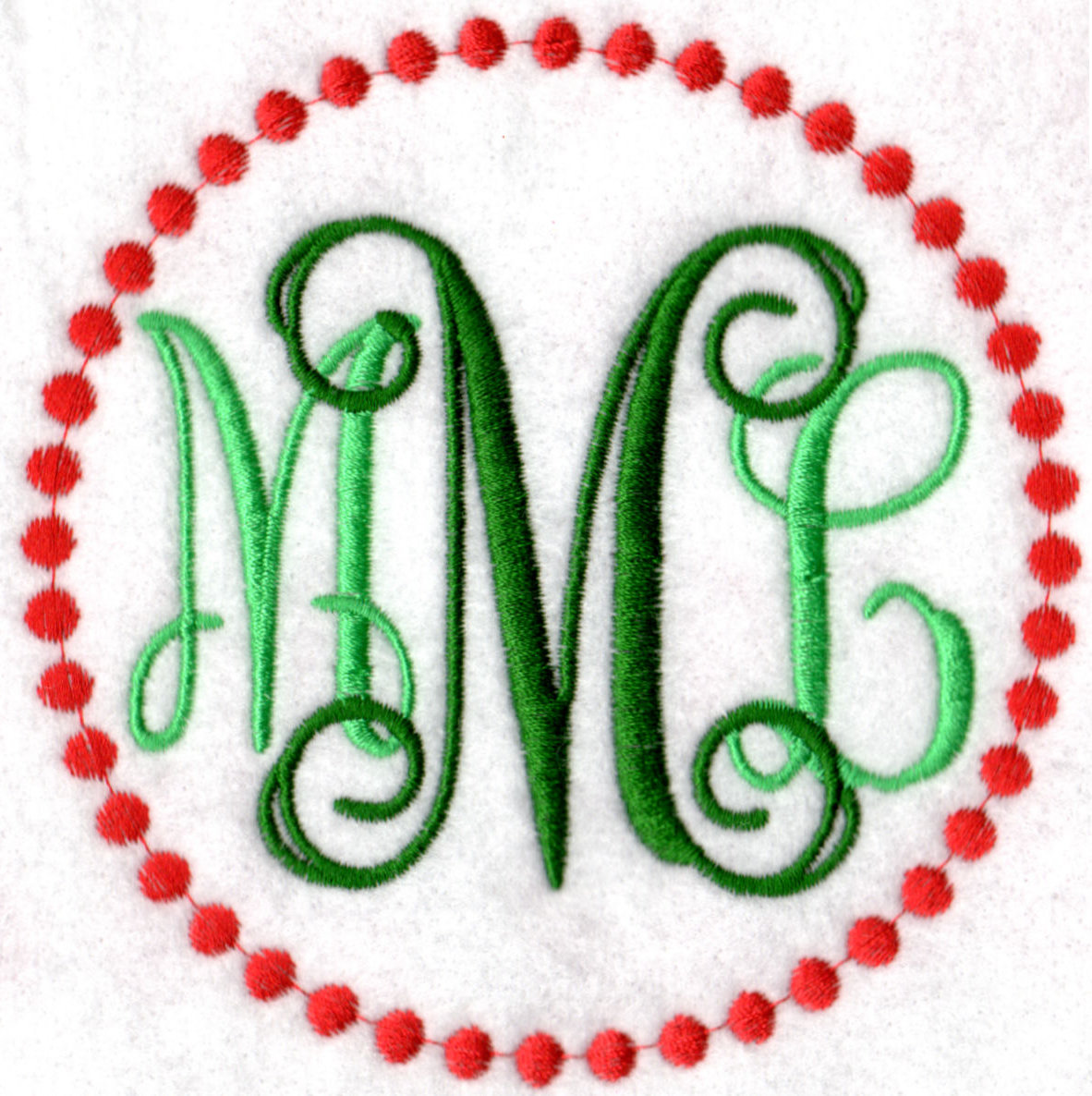Machine Embroidery Alphabets and Monograms | Embroidery Central
