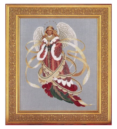 Angel Of Christmas.Angel Of Christmas Cross Stitch Pattern Embroidery Patterns
