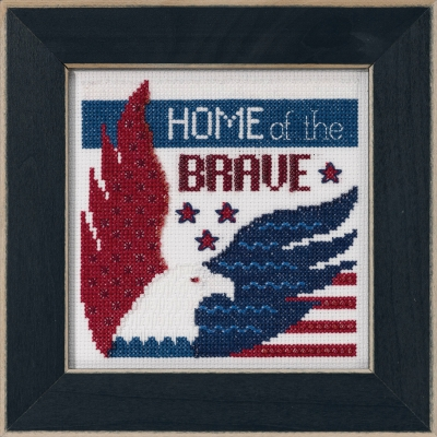 Home of the Brave (2019) Cross Stitch Kit