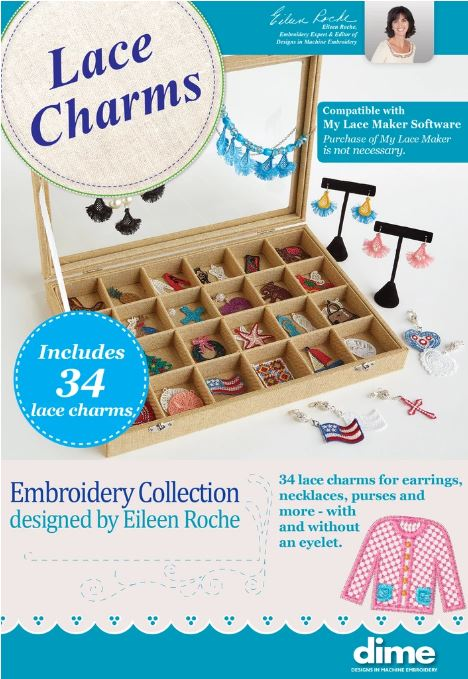 Lace Charms Collection by Eileen Roche