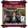 Image of Machine Embroidery Demo Video December 12th 2019