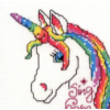 Unicorn & Pegasus Cross Stitch Kits