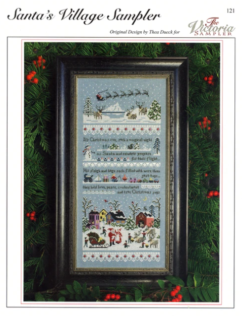 A Train Ride Sampler for Counted Cross Stitch