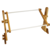 Image of AMERICAN DREAM PRODUCTS Tomorrow's Treasures Adjustable Oak Lap Frame, Tape Version