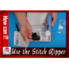Image of dime stich ripper in action eraser remover