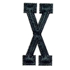 Monogramming Letters X