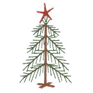 Little Fir Tree Island Embroidery