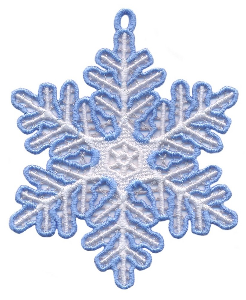SNOWFLAKE MACHINE EMBROIDERY  EMBROIDERY Amp ORIGAMI