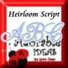 Heirloom Script Design Pack