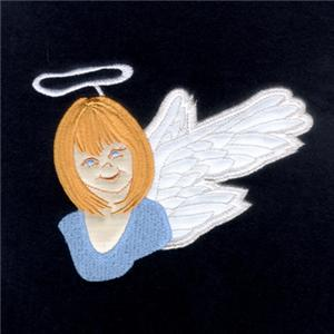 Christmas Angel Applique Embroidery Design By Starbird Inc