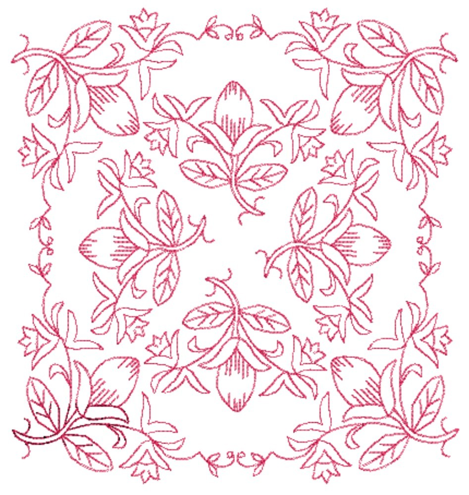 Paper embroidery patterns free