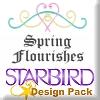 Spring Flourishes Design Pack