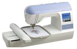 Brother® PE-770 sewing machine.