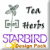 Tea Herbs Design Pack
