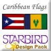 Caribbean Flags Design Pack