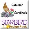 Summer Cardinals Design Pack