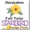 Decorative Fall Toile Design Pack