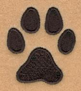 Dog Robe Paw