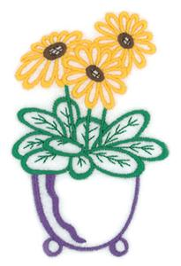 Daisy Potted Flower