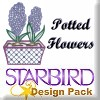 Potted Flowers Design Pack