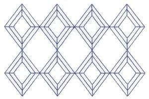 Diamond Stipple Long