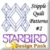Stipple Quilt Patterns #2 Design Pack