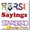 Nursing Sayings Design Pack