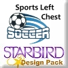 Sports Left Chest Design Pack
