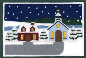 Kids Christmas Placemat Panel 3