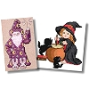 Cross Stitch Wizards and Witches Patterns
