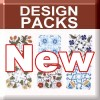 New Embroidery Design Packs