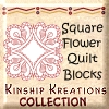 Square Flower Quilt Blocks