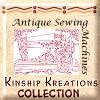 Antique Sewing Machine Quilt Blocks / Larger