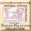 Antique Sewing Machine Quilt Blocks / Large