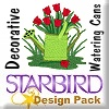 Decorative Watering Cans Design Pack