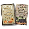 Cross Stitch Patterns Trick or Treat Sayings