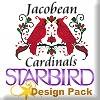 Jacobean Cardinals Design Pack
